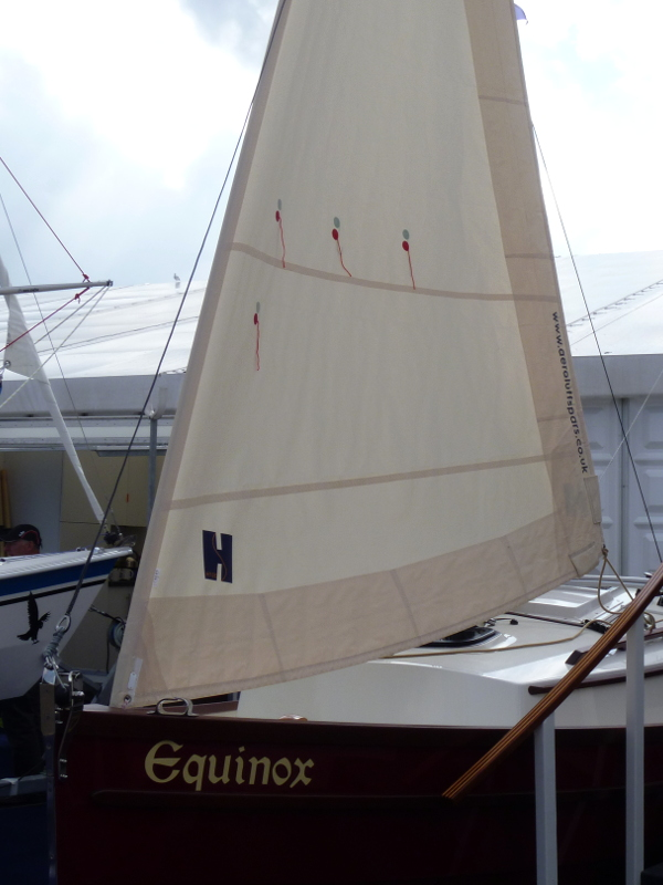 Swallow boats furling reefing system